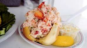 The lobster roll at Clam Bar in Amagansett.