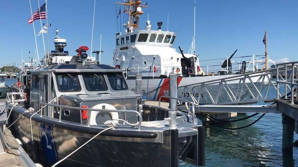 The $600,000 boat will help fight fires and