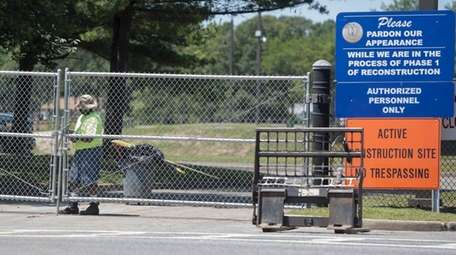 Roberto Clemente Park in Brentwood has been closed