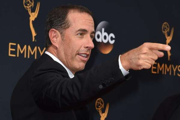 Jerry Seinfeld at Emmy Awards in Los Angeles