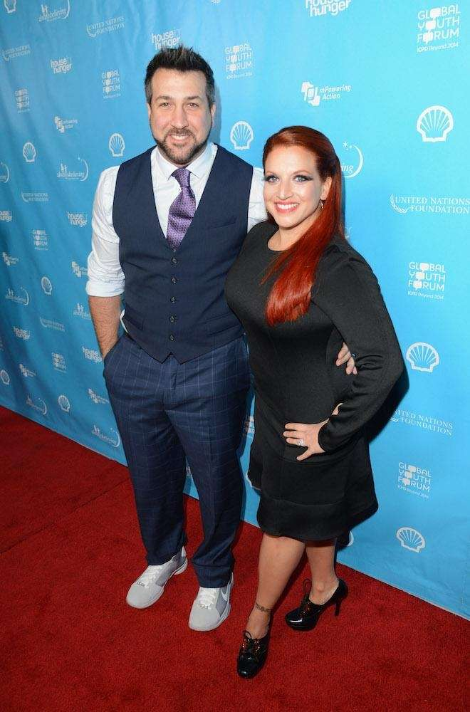 *NSYNC's Joey Fatone and high school sweetheart Kelly