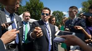 Anthony Scaramucci, the new White House communications director,