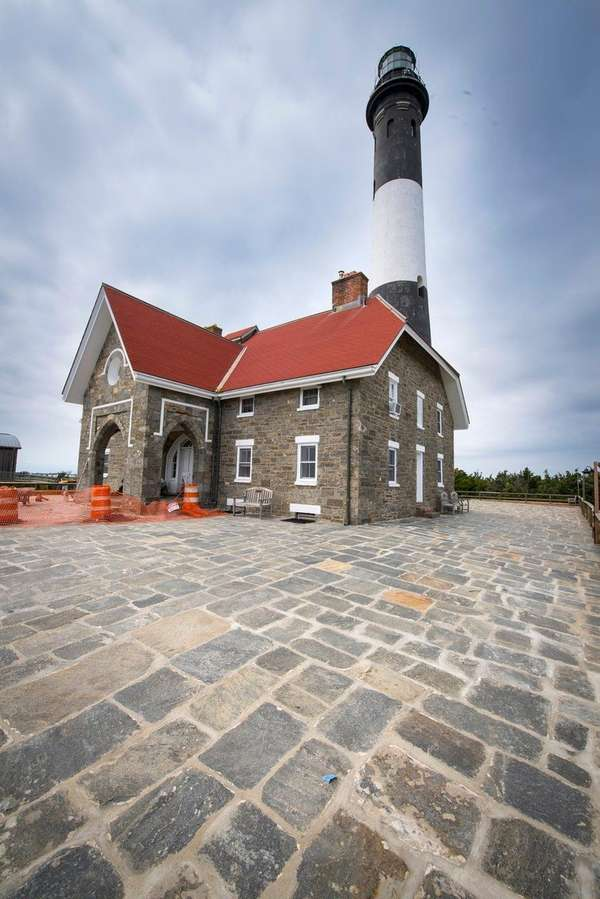 Officials said repairs at the Fire Island Lighthouse,