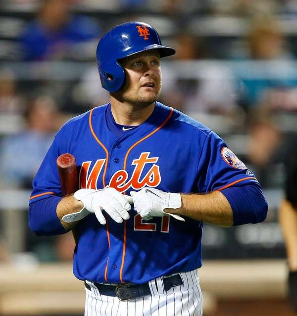 Lucas Duda  hit 125 homers in eight seasons