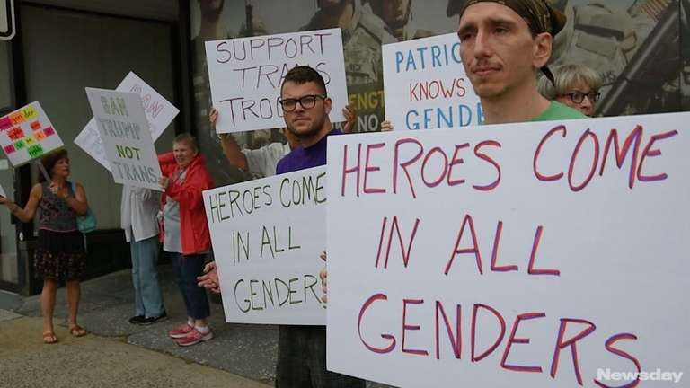 Members of the Long Island Transgender Advocacy Coalition