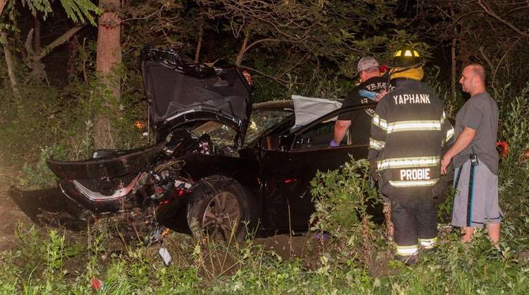 The driver of a 2017 Nissan Maxima died