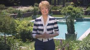 Jane Pauley at Planting Fields Arboretum in Oyster