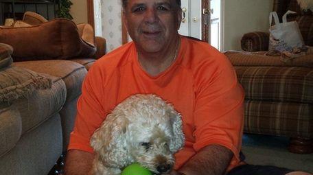 Jerry Tucciarone of Seaford with Baci.