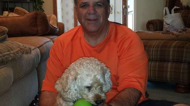 Jerry Tucciarone of Seaford with Baci.