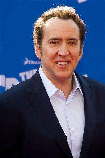 Stage name: Nicolas Cage Birth name: Nicolas Kim