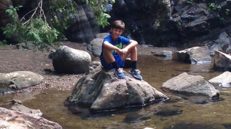 Kidsday reporter Jack Charbonneau enjoys a summer day