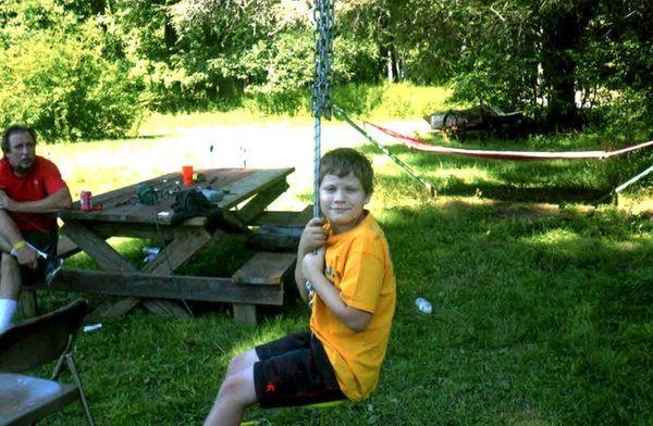 Kidsday reporter Luke Heller hangs out at his