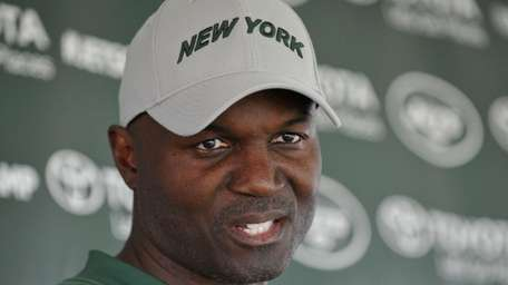 Todd Bowles, New York Jets head coach, speaks