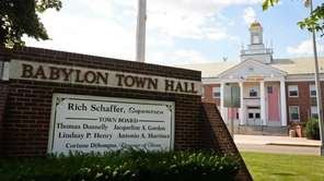 Babylon Town hall in Lindenhurst is pictured on