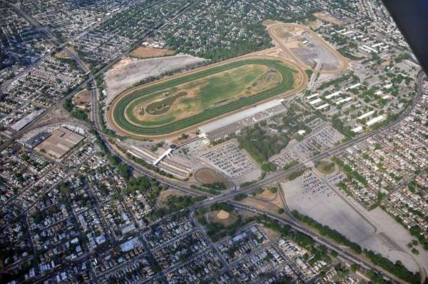 Belmont Park in Elmont, seen on May 30,