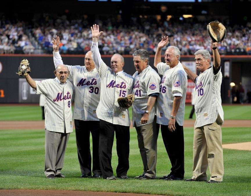 FLUSHING, NY - AUGUST 22, 2009: Yogi Berra,