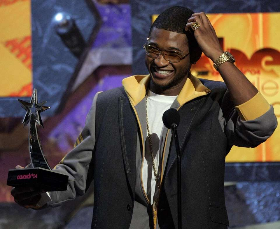 Usher topped the charts in the summer for