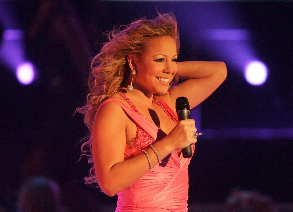 Mariah Carey topped the Billboard Hot 100 chart