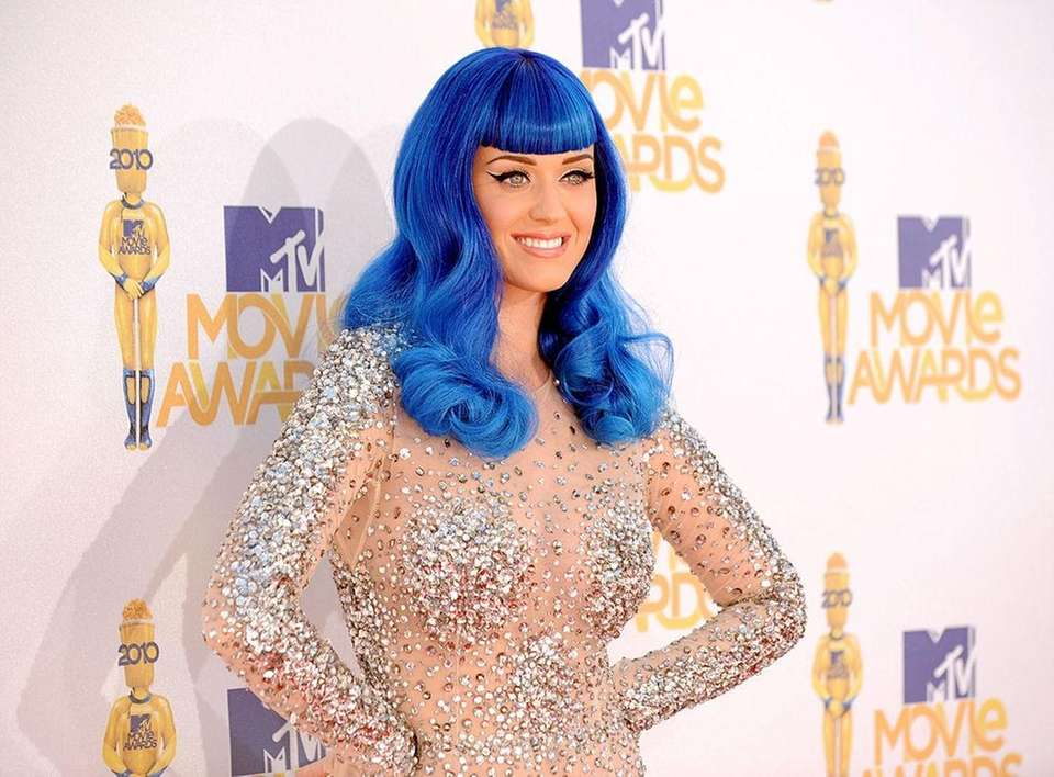Katy Perry continued to top charts into 2010