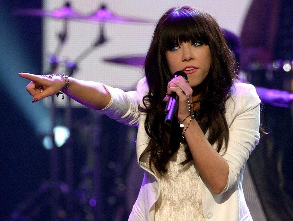 Canadian singer Carly Rae Jepsen's breakthrough single