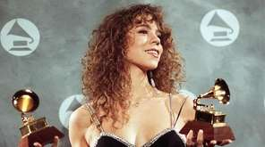 Long Island-born Mariah Carey always dominated the charts