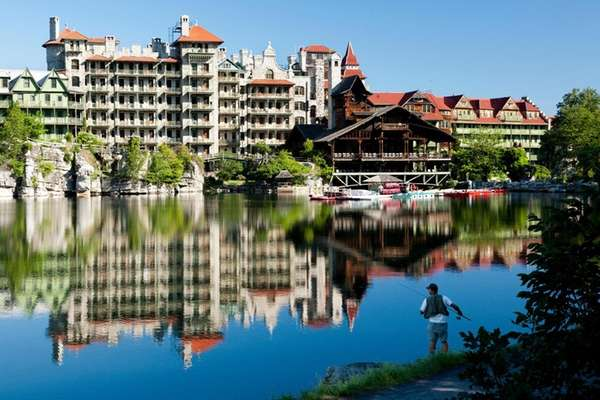 The Mohonk Mountain House in New Paltz.