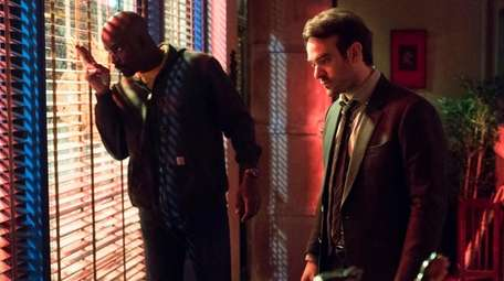 Mike Colter and Charlie Cox in