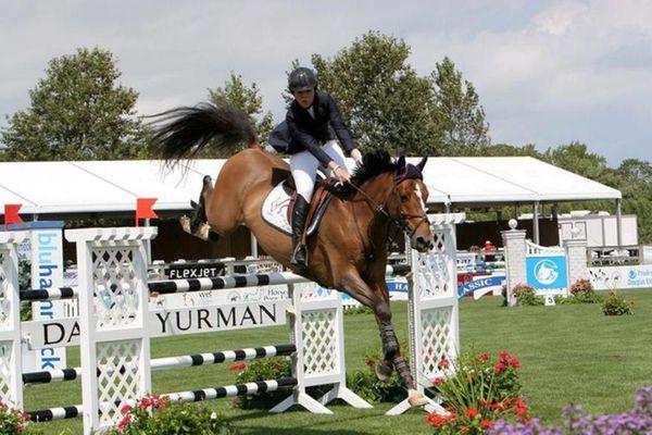 The Hampton Classic began in Bridgehampton on Sunday.