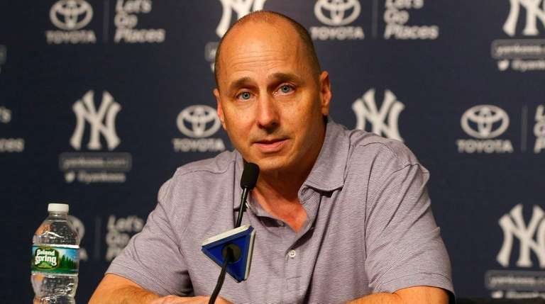 General manager Brian Cashman of the New York
