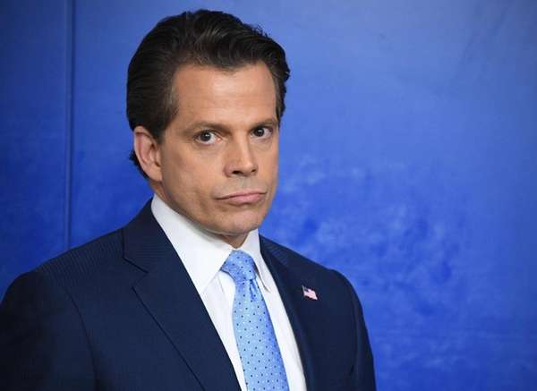 White House Communications Director Anthony Scaramucci was ousted