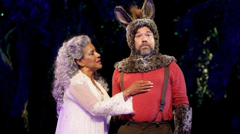 Phylicia Rashad and Danny Burstein in The Public