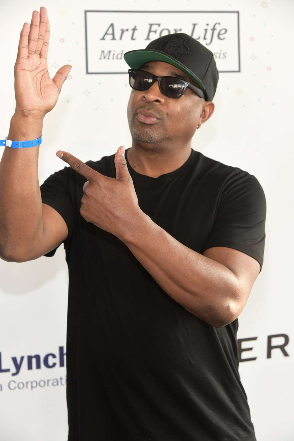 Rapper and Long Island native Chuck D, of