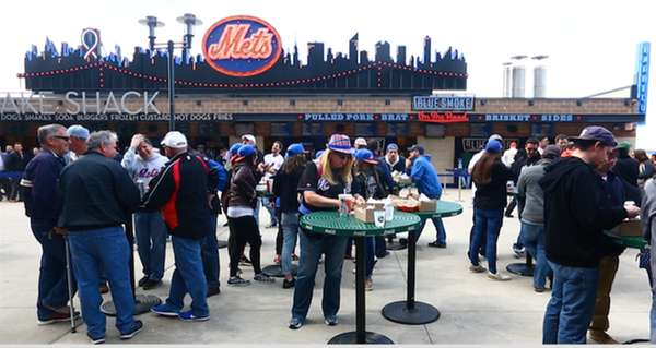 The city's sportiest dining destination? Citi Field, which