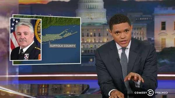 Daily Show with Trevor Noah clip featuring Long