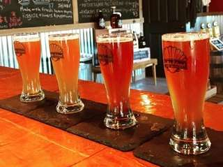 At Shelter Island Craft Brewery, beers are made