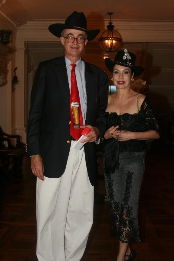 Heinrich Mathias Thurn and Carmen Petrowitz at The