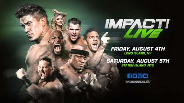 Global Force Wrestling brings its Impact Live tour