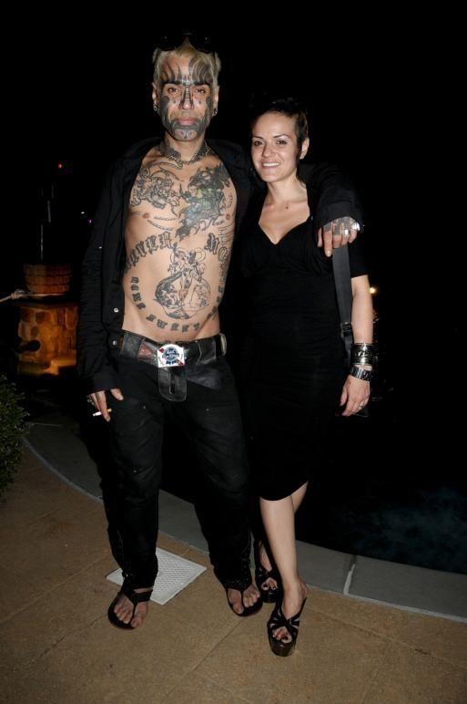 August 22- Watermill:(l-r) Johnny Hawaiian, Natalie Mastrosimone attend