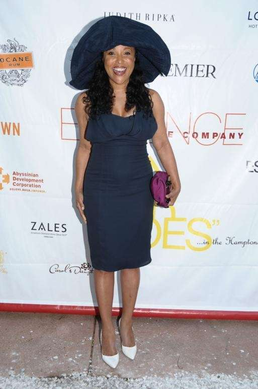 August 22- Watermill:(l-r) Actress Lynn Whitfield attends the