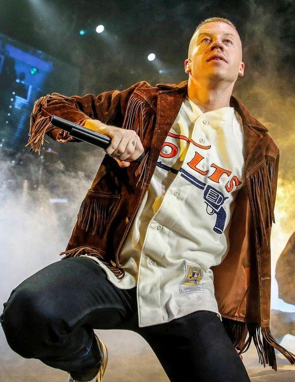 Macklemore performs in Brisbane, Australia, on Aug. 2,
