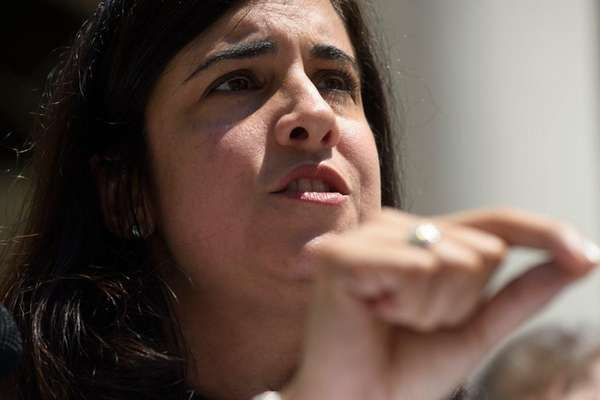 Republican NYC mayoral candidate Nicole Malliotakis on Tuesday,