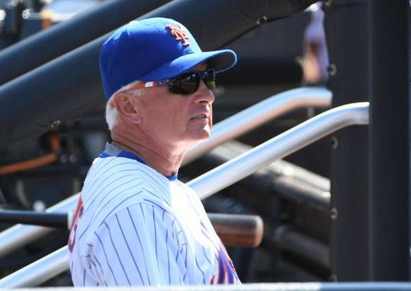 Mets manager Terry Collins, here at Citi Field