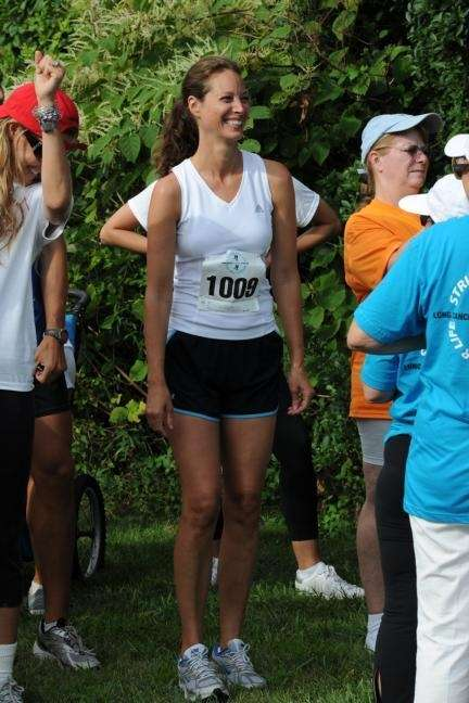 Christy Turlington was amoung the runners in a
