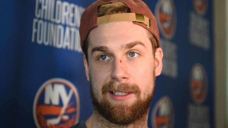 New York Islanders defenseman Calvin de Haan answers