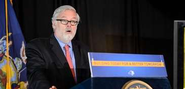 Outgoing Port Authority chief Pat Foye will become