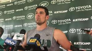 Jets No. 3 quarterback Bryce Petty talks about