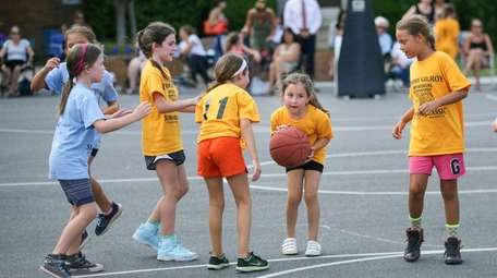 Young players participate in the Timmy Gilroy Summer