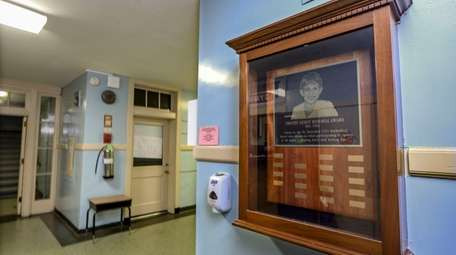 A tribute to Timmy Gilroy hangs at St.