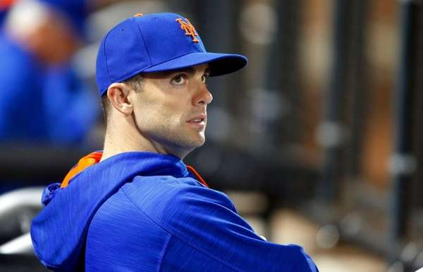David Wright of the Mets looks on against