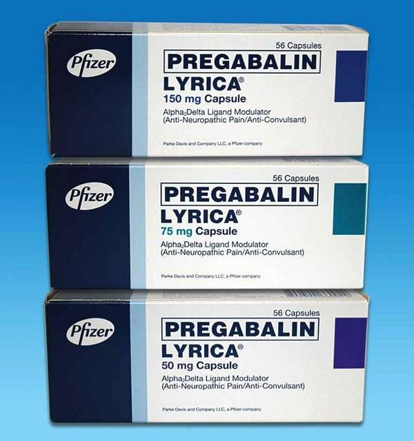 Pregabalin, sold under the name Lyrica, and gabapentin,